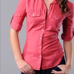 James Perse Tops - Stunning pink James Perse Blouse/Shirt